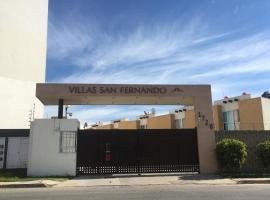 CASA EN EL FRACCIONAMIENTO SAN FERNANDO 1, apartamento en Cuautlancingo