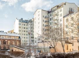 Hiisi Homes Helsinki Sörnäinen, hotelli Helsingissä lähellä maamerkkiä Herttoniemen metroasema