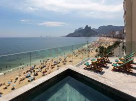 Hotel Arpoador, hotel near Post 3 - Copacabana, Rio de Janeiro