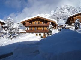 Ferienwohnung Dorfanger, Ferienwohnung in Alpbach