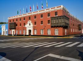 Costa del Sol Trujillo Centro, hotel with jacuzzis in Trujillo