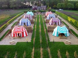 Knights Glamping at Leeds Castle, hotel near Leeds Castle, Leeds