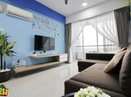 H2H - Summer Holidays @ Majestic Ipoh (10 Guests), apartment in Ipoh