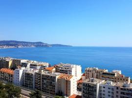 Sea View Apartment, hôtel à Nice