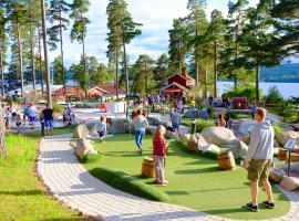 Leksand Strand Camping och Resort, hotel in Leksand