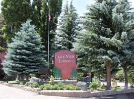 Lake View Lodge, glamping site in Lee Vining