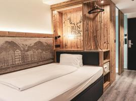 BinderS Budget City-Mountain Hotel, hotel en Innsbruck