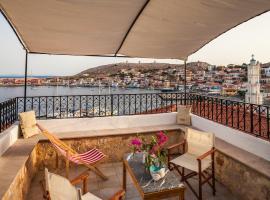 Rosalia Apartments, hotell i Chalki