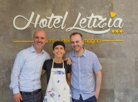 Hotel Letizia, отель в Беллария-Иджеа-Марина