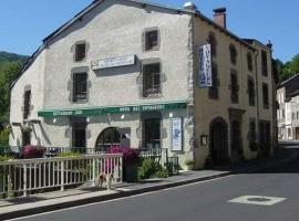 Hôtel des Voyageurs, hôtel à Ferrières-Saint-Mary