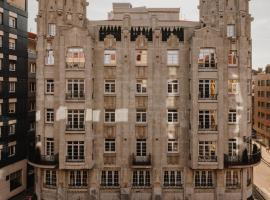 El Môderne Hotel, hotel en Gijón