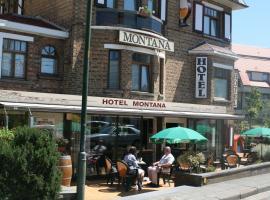 Hotel Montana, hotel in De Panne