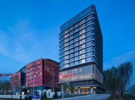 Viesnīca Hilton Garden Inn Zhuhai Hengqin pilsētā Džuhai