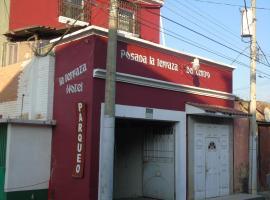 """HOTEL """"POSADA LA TERRAZA DEL CENTRO"""", Hotel in Quetzaltenango"""
