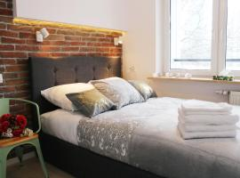 Cooee Apartments - Comfy with great city view, apartment in Warsaw