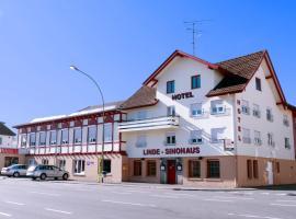Hotel Linde-Sinohaus, hotel near St. Gallen-Altenrhein Airport - ACH, Lustenau