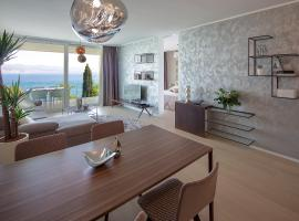 Opatija Deluxe Apartment with swimming pool, hotel with jacuzzis in Opatija