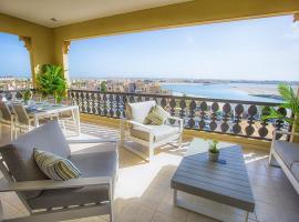 Al Hamra Marina Apartment with Lagoon view, apartment in Ras al Khaimah