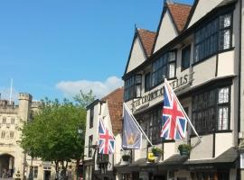 The Crown at Wells, Somerset, inn in Wells