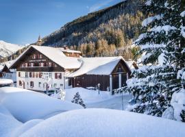 Landhaus Albert Murr, pet-friendly hotel in Sankt Anton am Arlberg