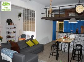 Loft City Center+Free Parking, apartment in Seville