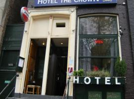 Hotel Crown, hotel in Red Light District, Amsterdam