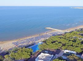 Villaggio Gabbiano Beach, resort village in Vieste