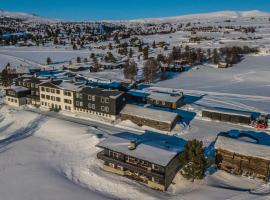 Øigardseter Fjellstue, hotell på Høvringen