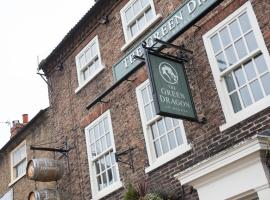 Green Dragon, budget hotel in Bedale