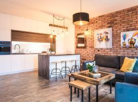 Unique Apartments - Browar Gdański – hotel w Gdańsku