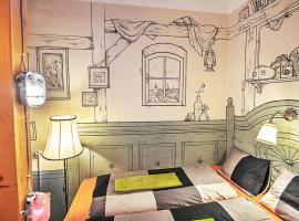 Lavender Circus Hostel, Doubles & Ensuites, hostelli Budapestissä