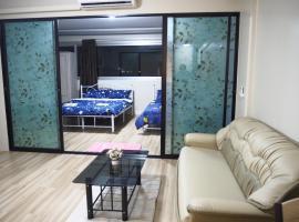 0402new luxury 3 bedroom Riviera Up Condominiumเมืองทองธานี, hotel in Nonthaburi