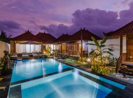 Lembongan Small Heaven Bungalow, hotell sihtkohas Nusa Lembongan