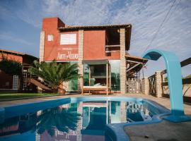 Pousada Arte do Velejo, hotel with pools in São Miguel do Gostoso