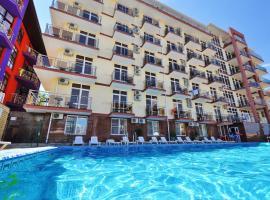 Hotel Gala Palmira, отель в Витязеве