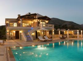 Aegean Island Villa, Breathtaking View, hotel in Eretria