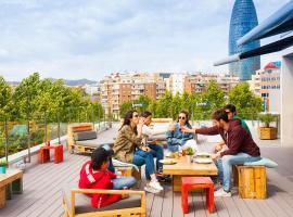 Twentytú Hostel, albergue en Barcelona