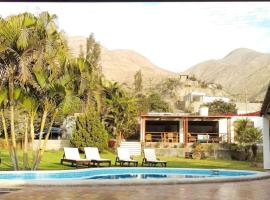 Casa de Campo Moval, hotel with pools in Cieneguilla