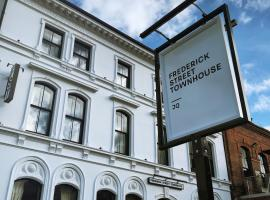 Frederick Street Townhouse, accessible hotel in Birmingham
