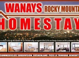 Wanay's Rocky Mountain Homestay, hotel in Baguio