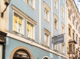 Göttfried - essen trinken schlafen, hotel in Linz