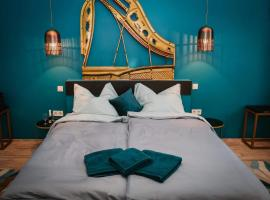 Park&Art Boutique Suites, bed & breakfast στη Βουδαπέστη