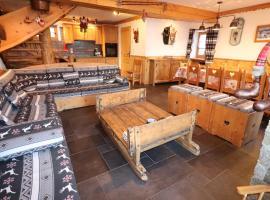 CHALET de charme 13 personnes avec Sauna SKI O PIEDS, hotel in Saint-Martin-de-Belleville