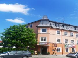 Hotel Rosenheimer Hof, Hotel in Traunstein