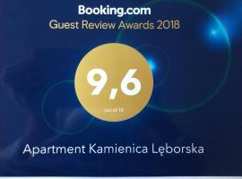 Apartment Kamienica Lęborska, hotel in Gdańsk