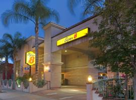 Super 8 by Wyndham North Hollywood, hotel near Hollywood Burbank Airport - BUR,
