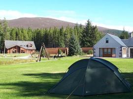 Badaguish lodges, wigwams and camping, campeggio ad Aviemore