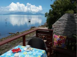 AU FARE MOENAU, cabin in Paea