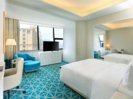Howard Johnson Plaza Ningbo, hotel 5 estrellas en Ningbo