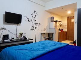 Bacup Studio Apartment @Galeri Ciumbuleuit, hotel with pools in Bandung